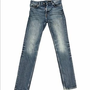 H&M skinny light washed jeans